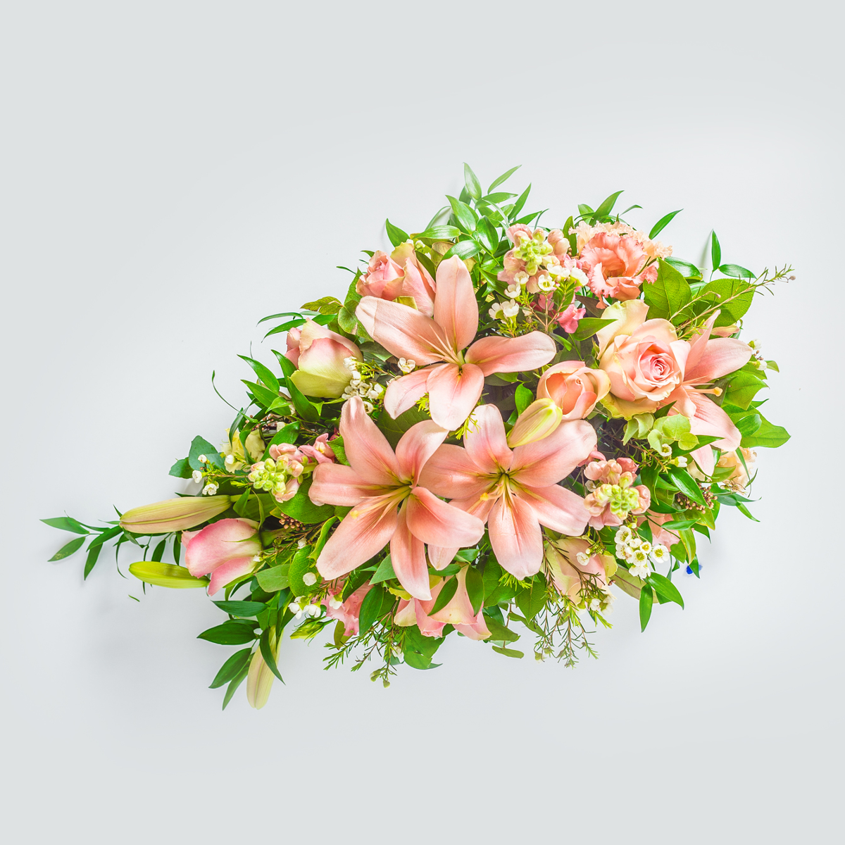 Single ended funeral spray | Funeral Flowers | XOXO Florist