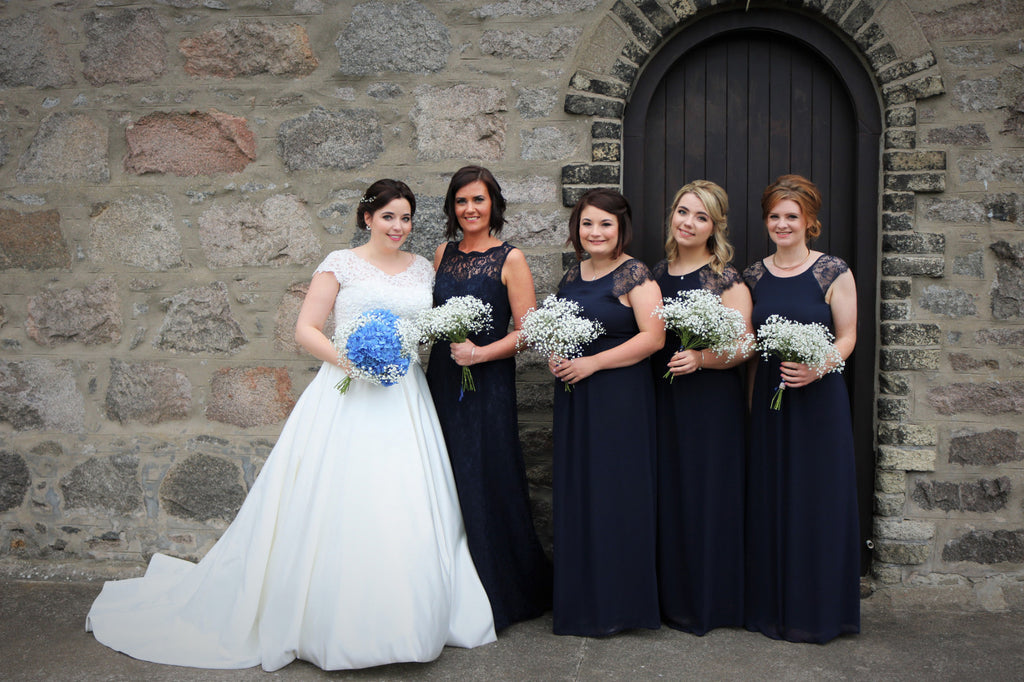 Bridal Party at Marischal College