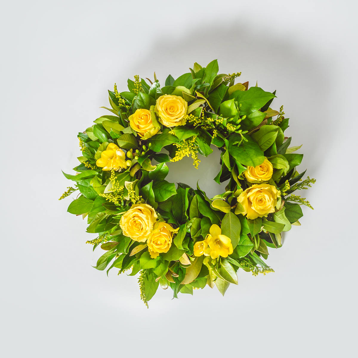 Funeral and Grave Wreath Ring | Funeral Flowers | XOXO Florist Aberdeen