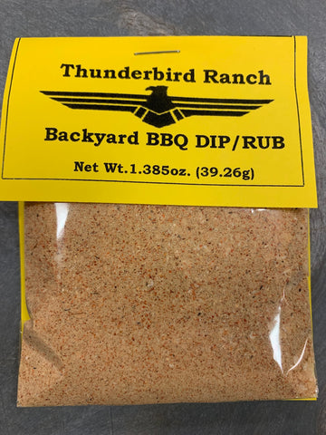 Backyard BBQ Dip/Rub