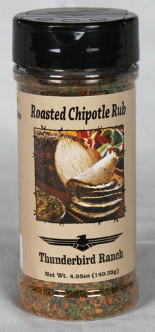 Roasted Chipotle Rub Bottle