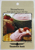 Strawberry Fruit Dip & Cheese Ball Mix