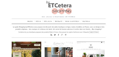 Guide shopping by ETCetera