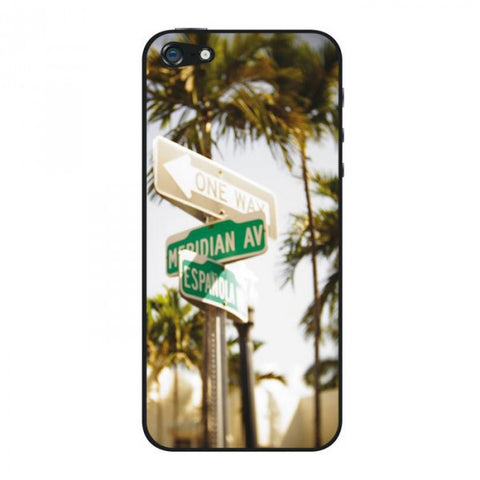 Protection autocollante originale pour iPhone 5 Miami South Beach