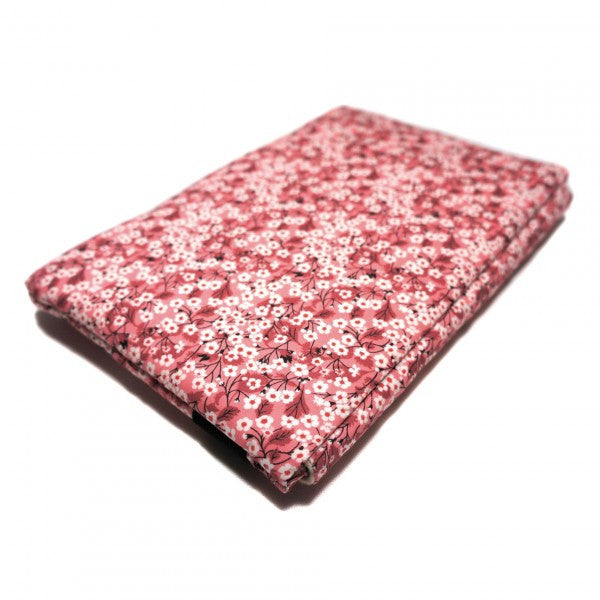Housse ipad mini en liberty mitsi rose elisa fair design for Housse i pad mini