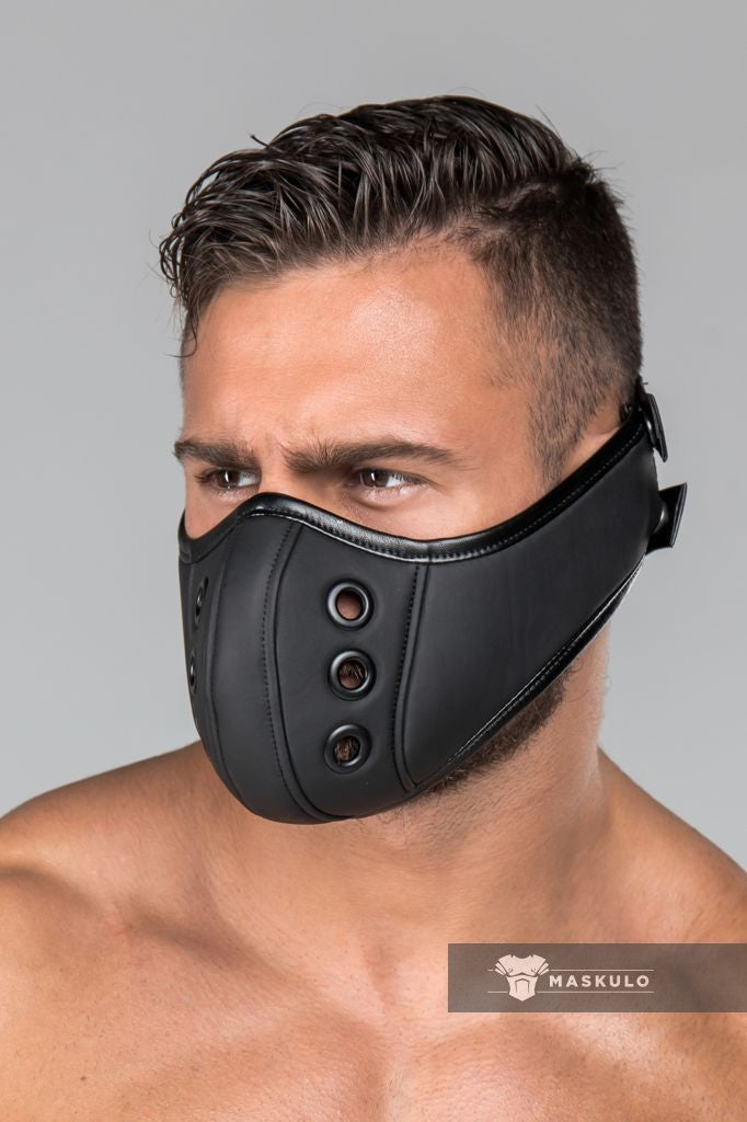 Armored. Maskulo Fetish Mask (Muzzle)
