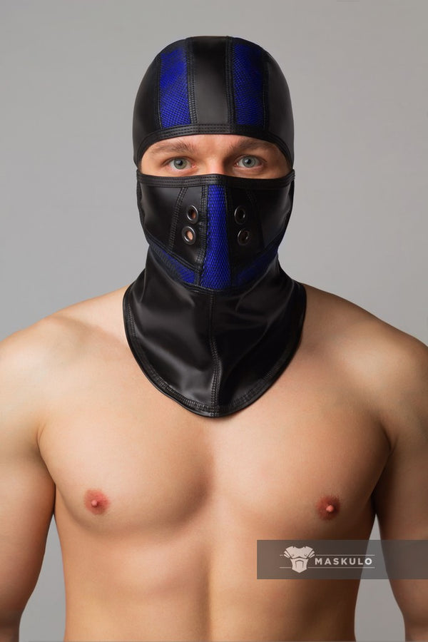 Armored. Color-Under. Fetish Balaclava