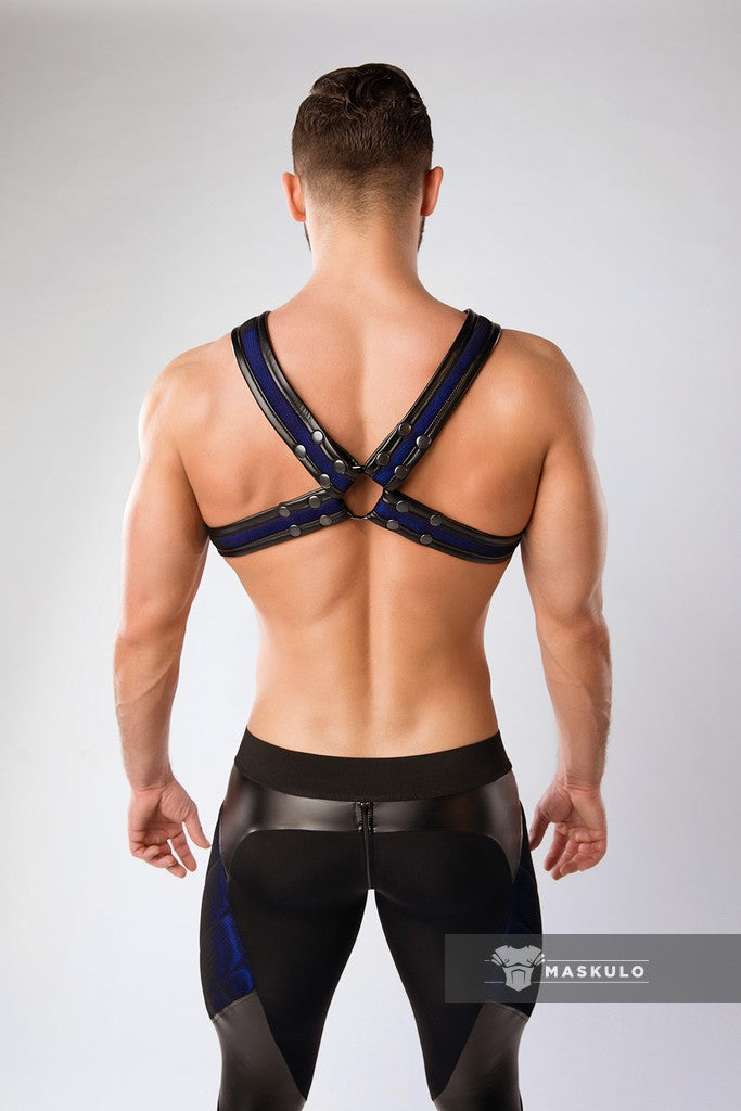 Armored. Color-Under. '2 Fronts' Chest Harness