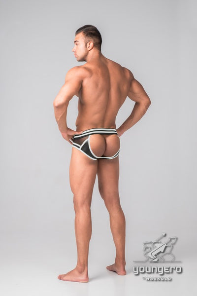 Youngero Generation Y. Men's Fetish Briefs. Codpiece. Open Rear