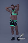 Youngero Generation Y. Men's Fetish Y-harness