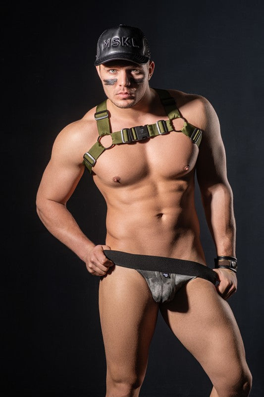 EnForce. Army Dirt Jockstraps