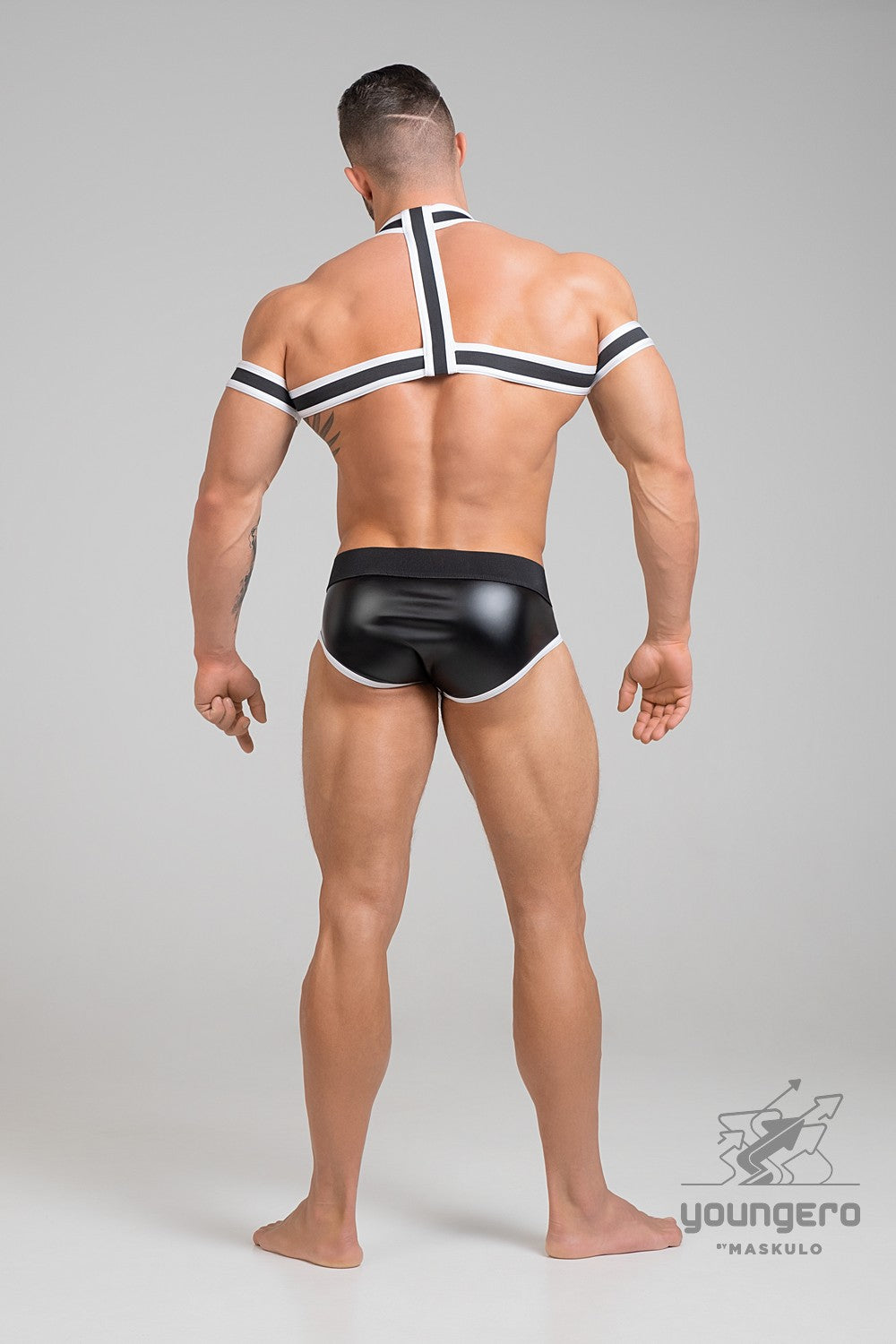 Youngero. Elastic Harness with Biceps Bands