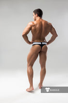 Armored. Men's Fetish Thongs. Detachable Codpiece