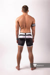 Youngero. Men's Fetish Shorts. Codpiece. Zipped Rear