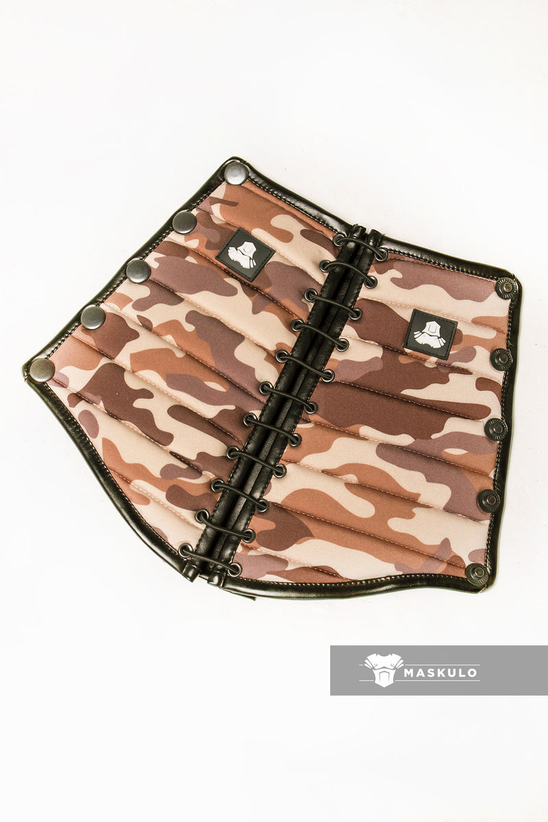 Armored. Maskulo Spandex Forearm Guard Wallet. Camo (1 pc)