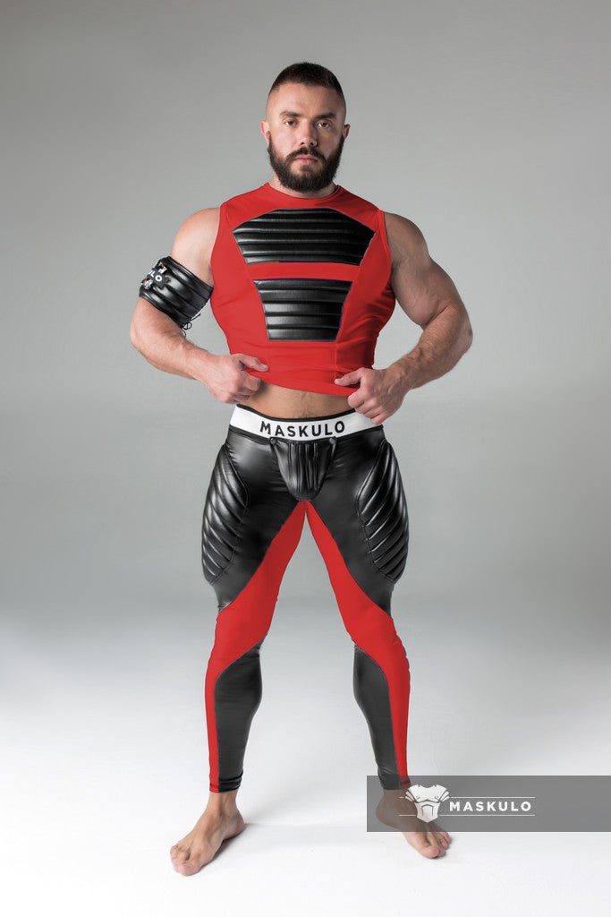 Men's Fetish Leggings. Codpiece.