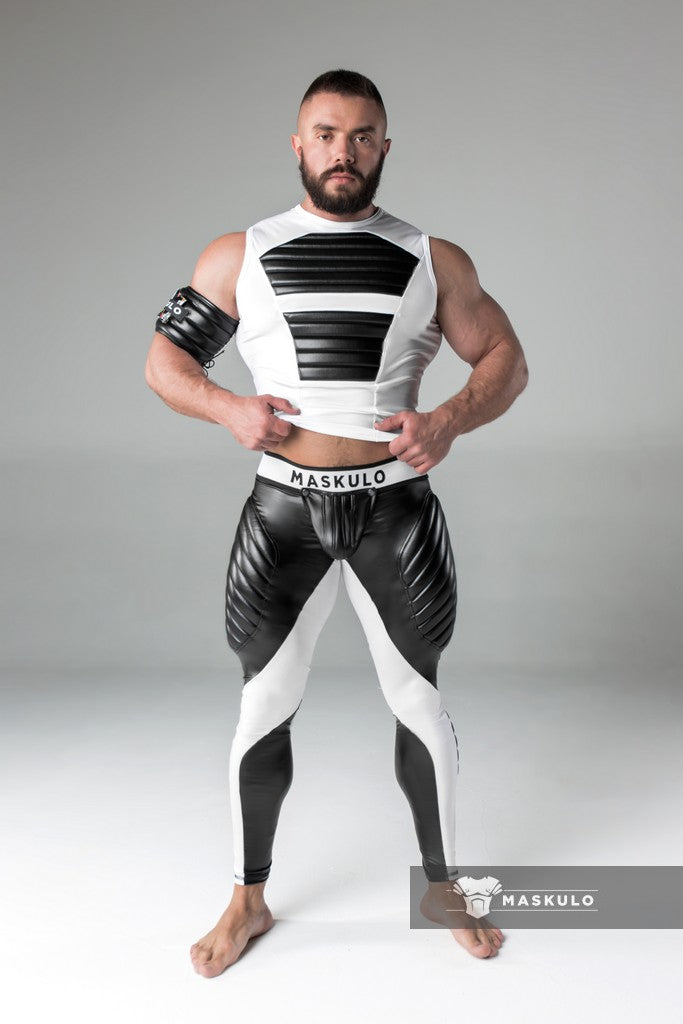 SALE Armored. Men's Fetish Meggings. Codpiece. Open rear