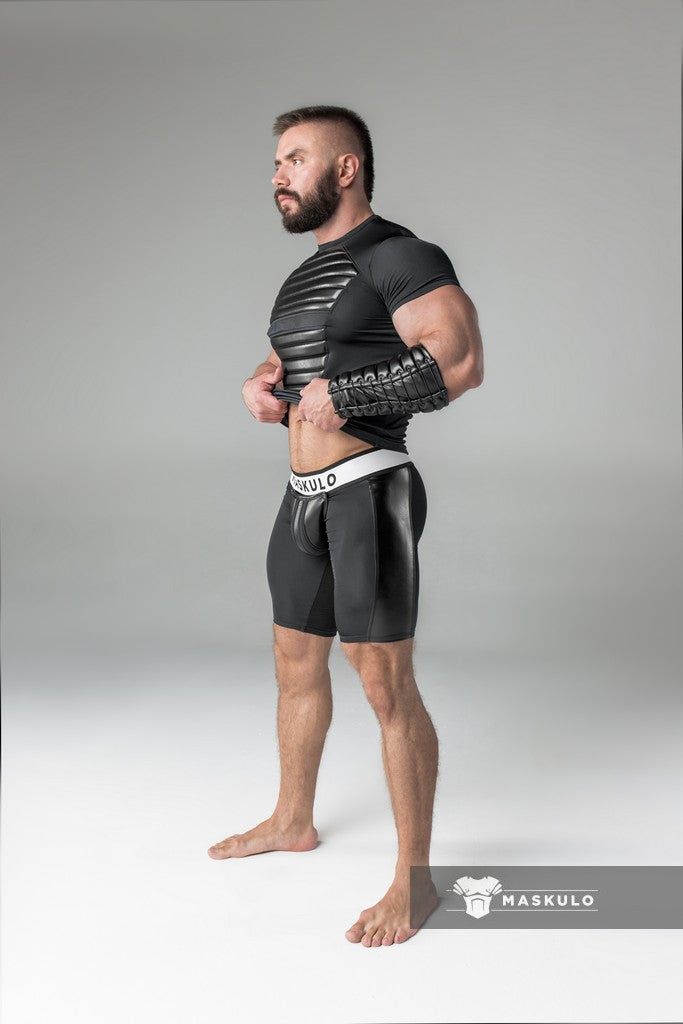 Armored. Men's Fetish Shorts. Codpiece