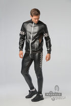 Markdown. Men's Fetish Leatherette Jacket. Shop Window Sample