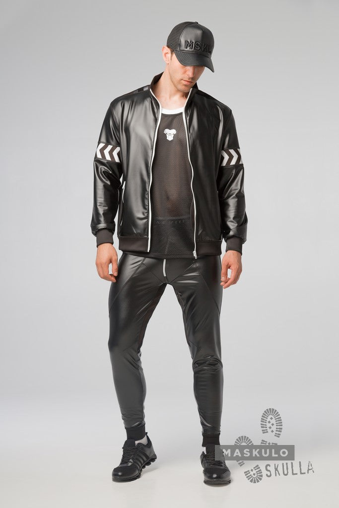 Markdown. Men's Fetish Leatherette Jacket. Floor Sample