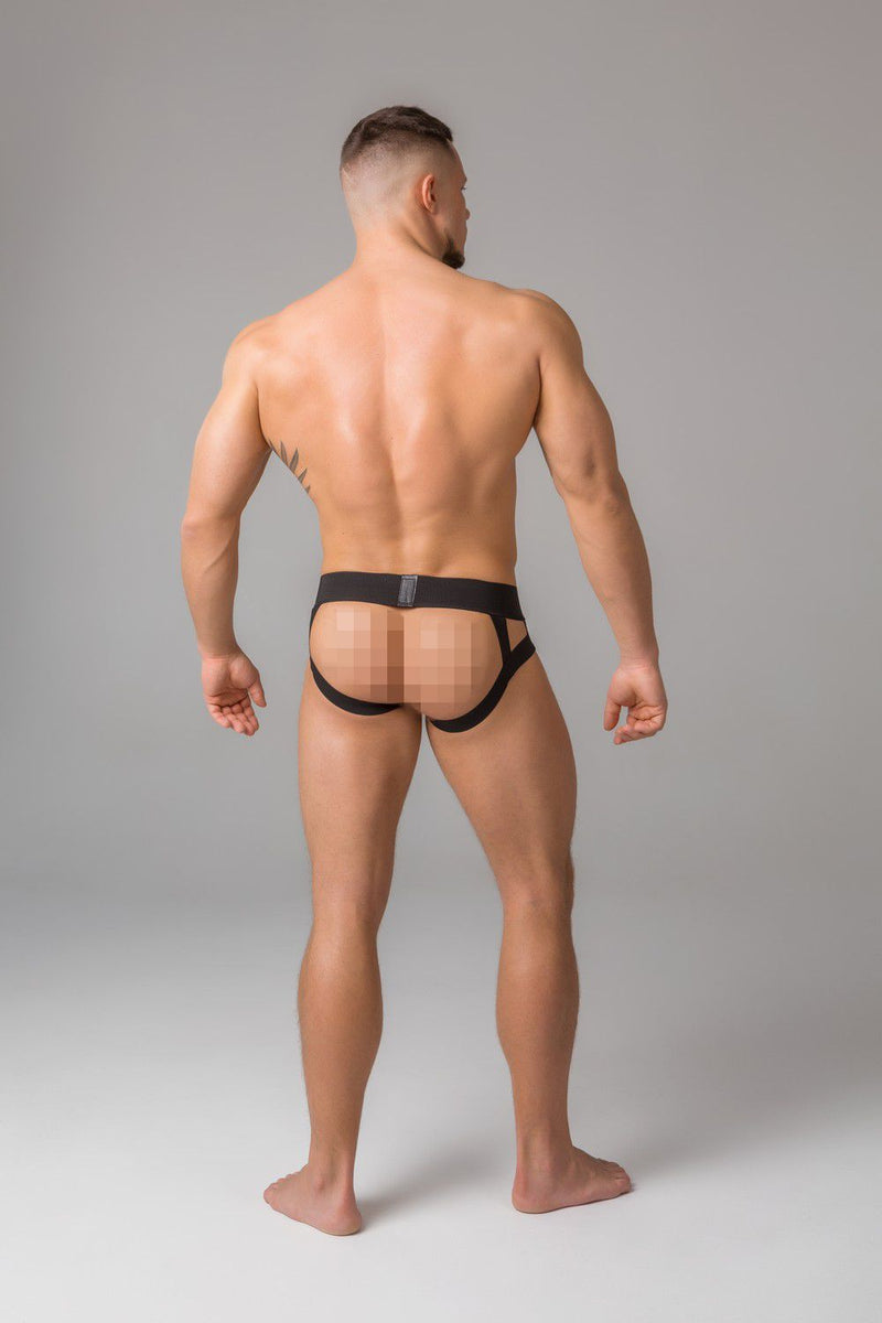 Youngero. Men's Fetish Jockstraps. Mesh Codpiece. Neon