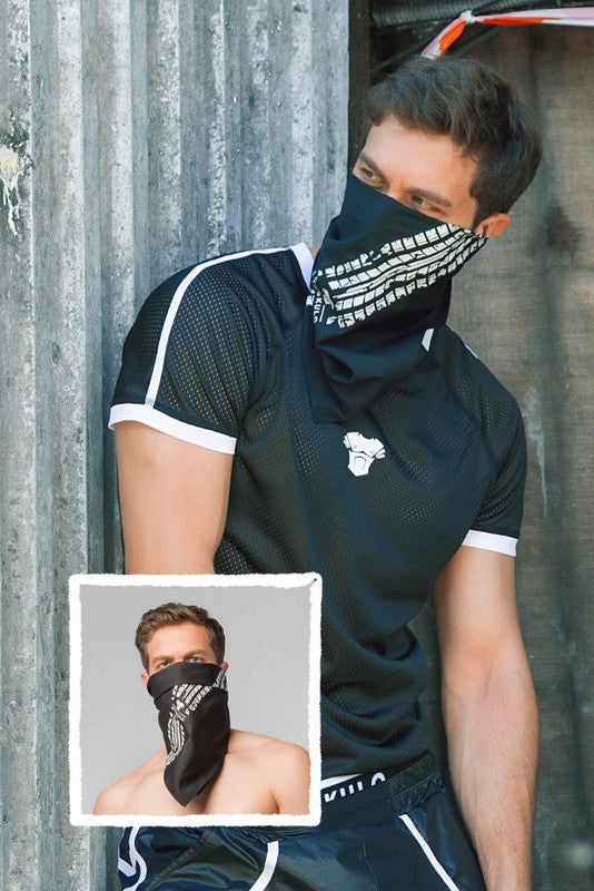 Skulla. Men's Fetish Bandana