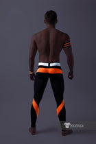 Youngero. Men's Fetish Leggings. Codpiece. Neon
