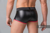 Youngero. Men's Fetish Trunk shorts. Mesh Codpiece. Zippered Rear