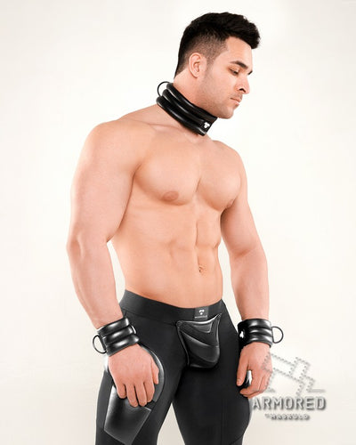Armored Next. Men's Fetish Collar