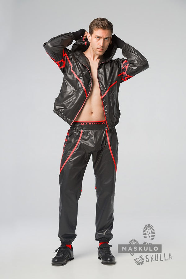 Skulla. Men's Fetish Windbreaker Pants