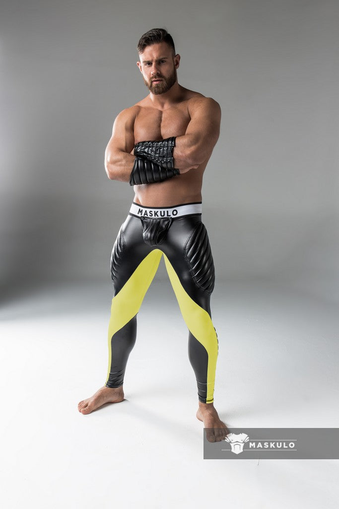 SALE Armored. Men's Fetish Leggings. Codpiece.