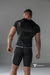 Armored. Men's T-Shirt. Spandex. Front Pads