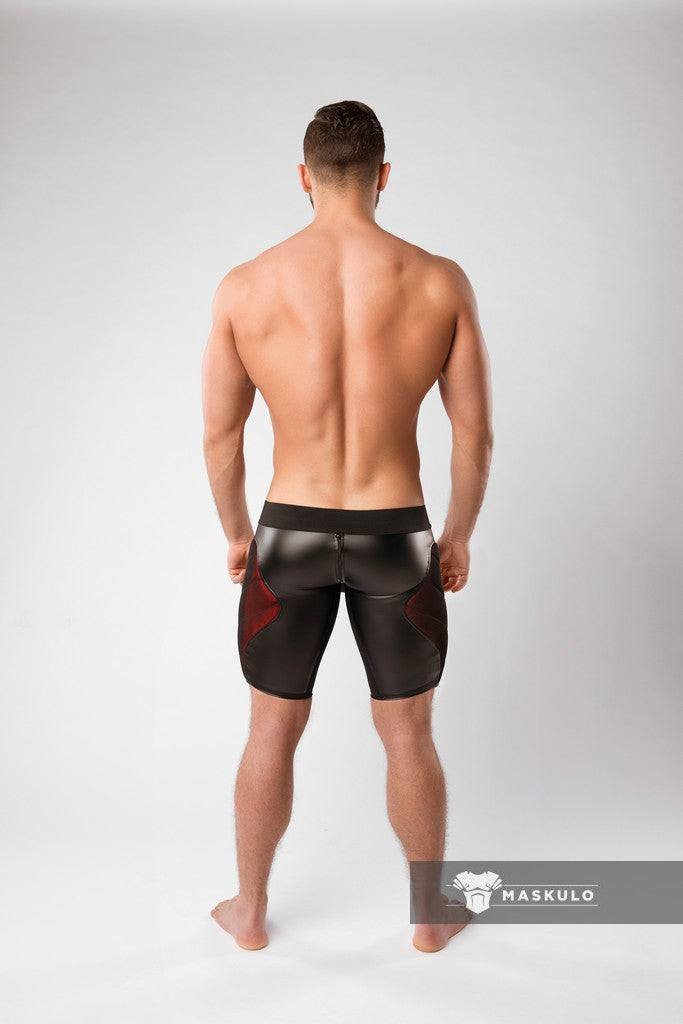 Armored. Color-Under. Men's Cycling Shorts. Zipped rear