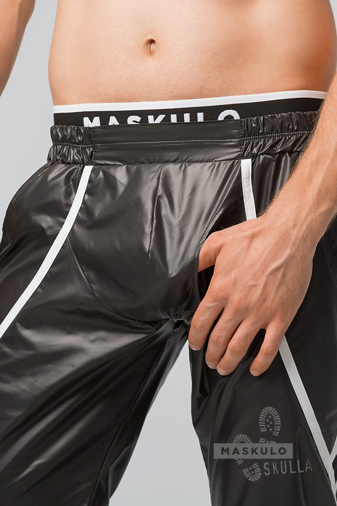 Markdown. Men's Fetish Windbreaker Shorts. Shop Window Sample