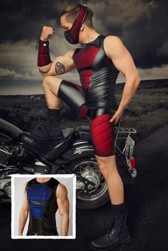 Armored. Color-Under. Men's Tank Top. Front Pads