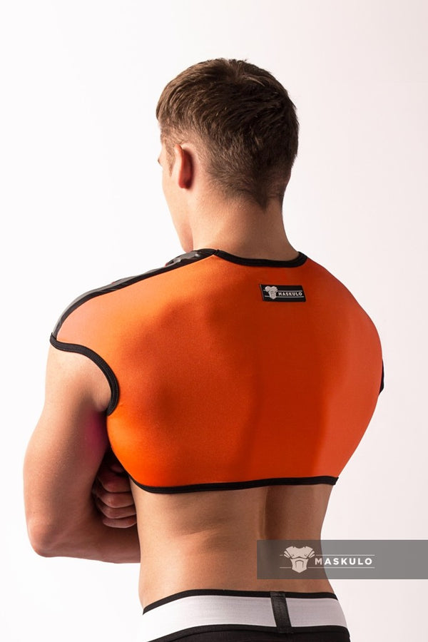Youngero. Men's Fetish Top. Spandex. Neon