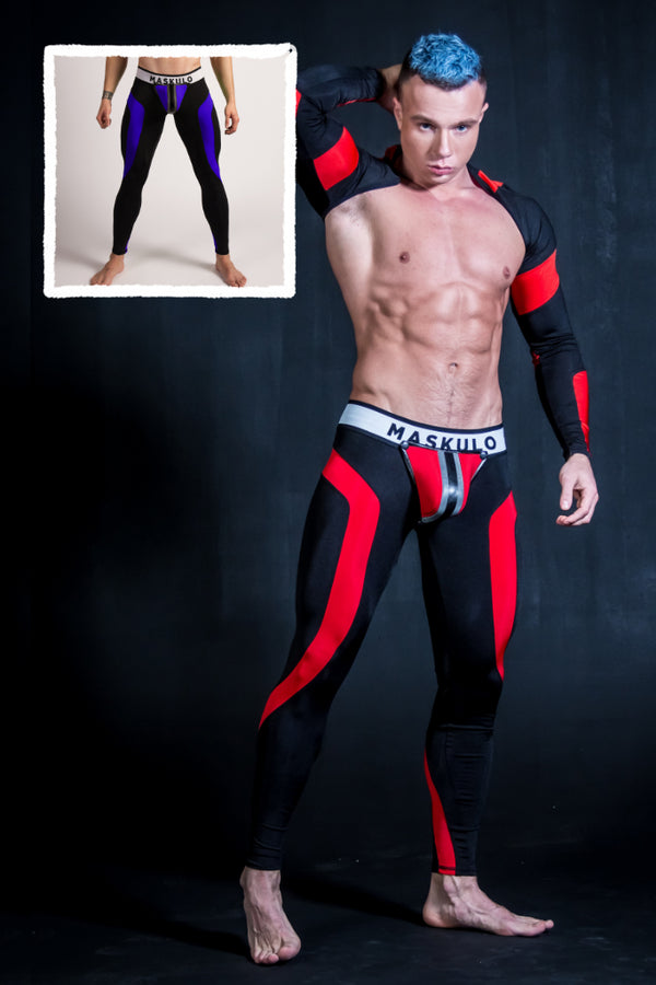 Youngero. Men's Fetish Leggings. Codpiece