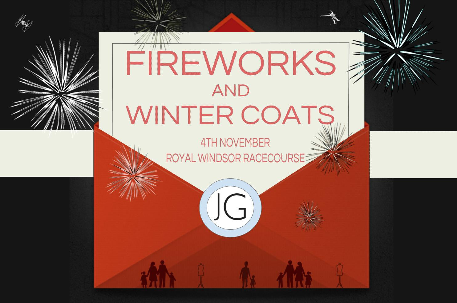 John Goodwin Fireworks & Winter Coats Drinks Reception