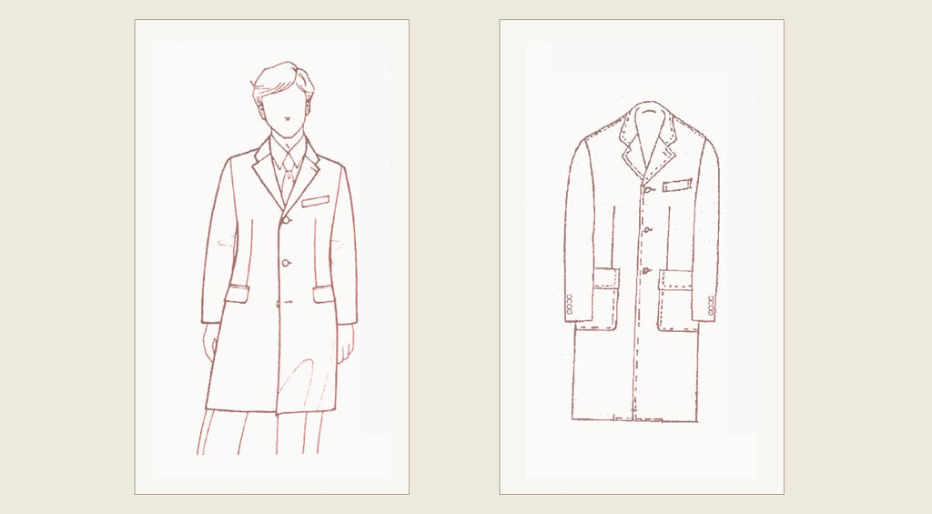 John Godwin Black Label Coats - Drawings