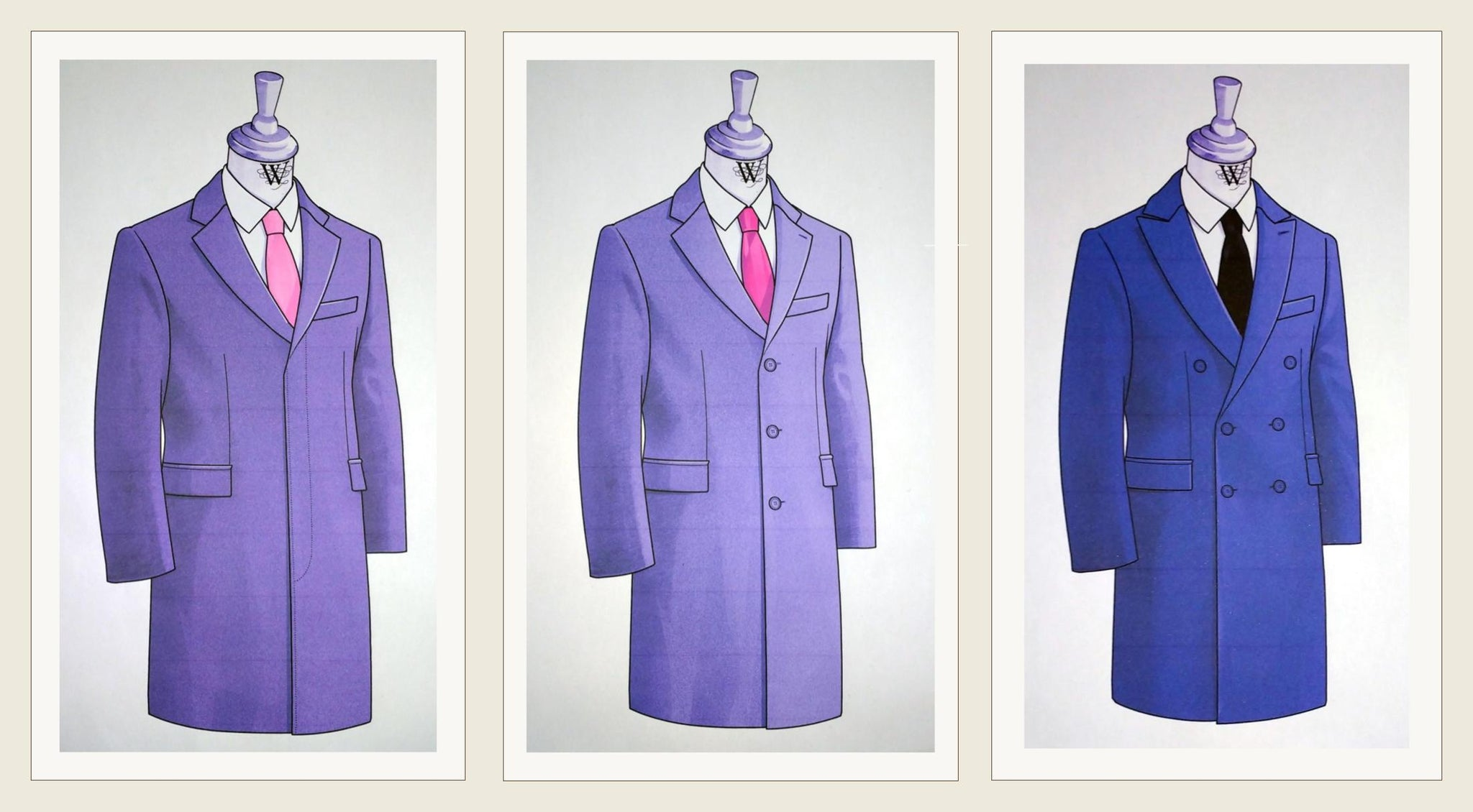John Goodwin White Label Coats - Drawings