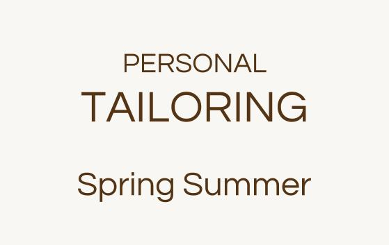 Personal Tailoring Spring Summer Looks