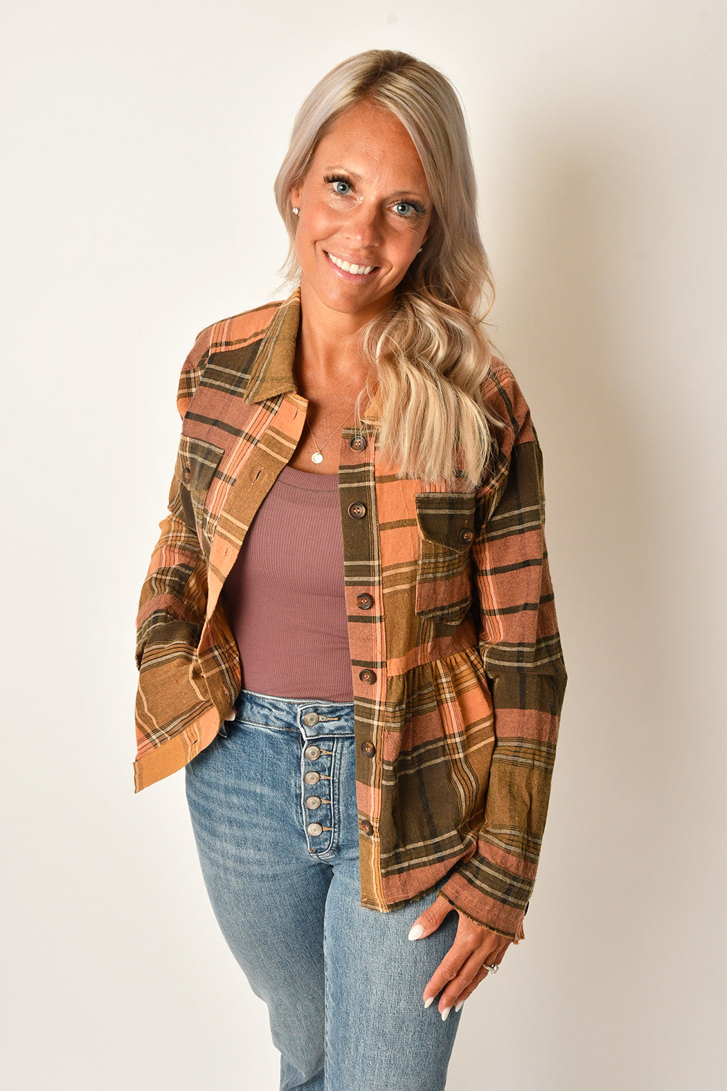 THML Bell Sleeve Top