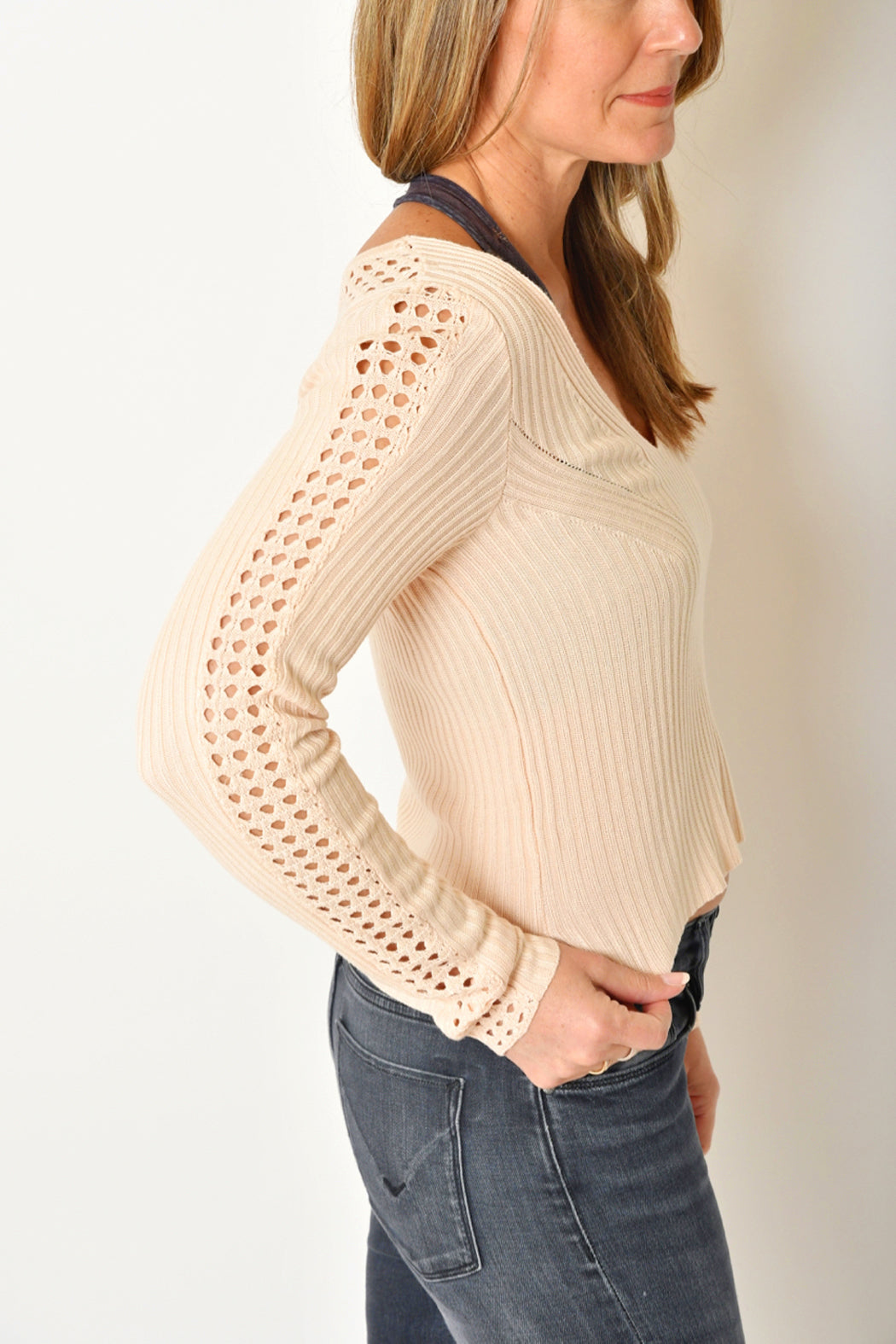 Wishlist Chevron Sweater