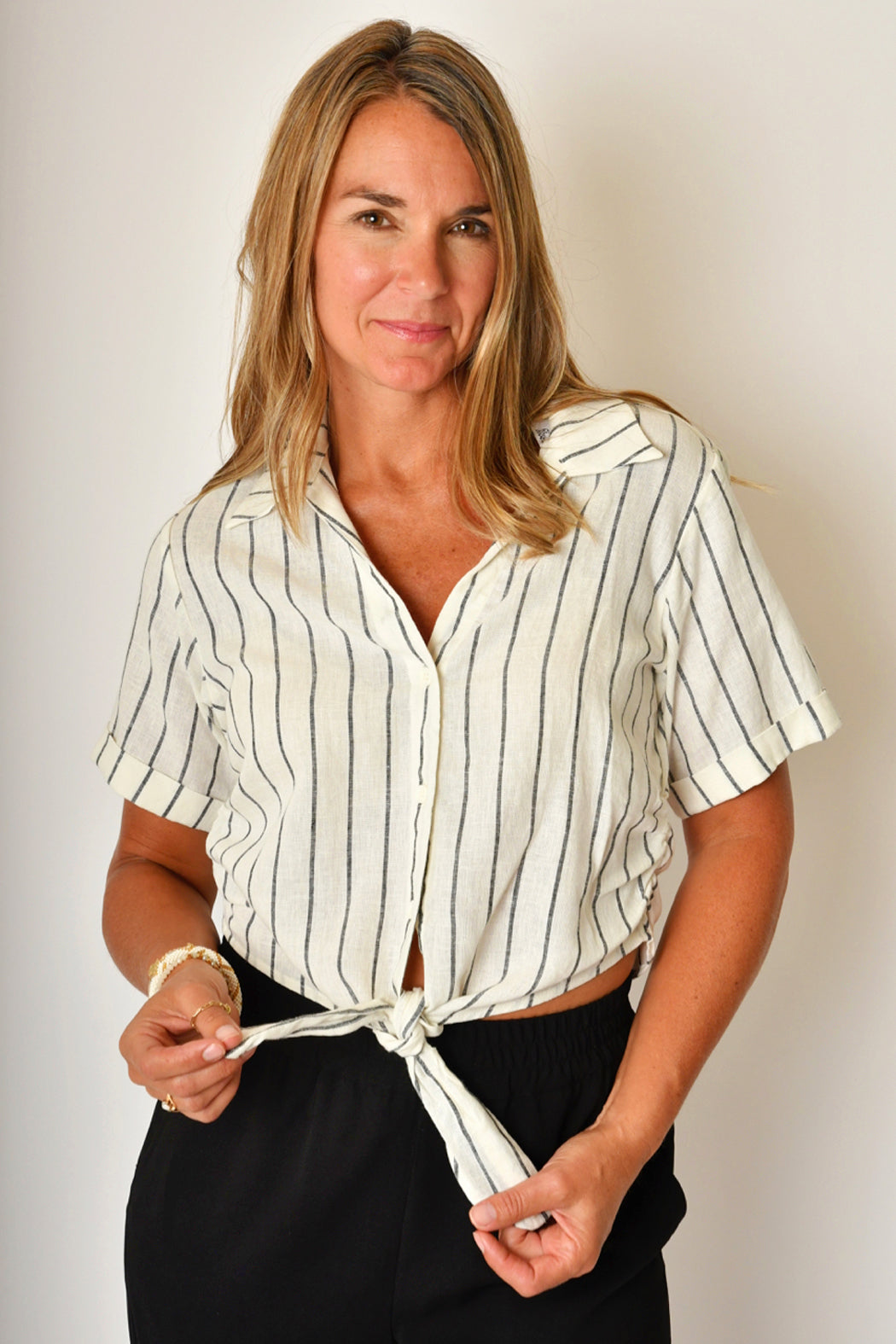 Jack Mai Cold Shoulder Sweater