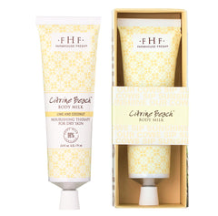 Farmhouse Fresh Citrine Beach Body Milk Travel Lotion