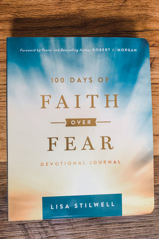 100 days of Faith over Fear Book