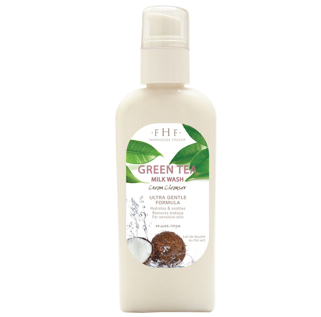Farmhouse Fresh Green Tea Milk Wash Cream Cleanser