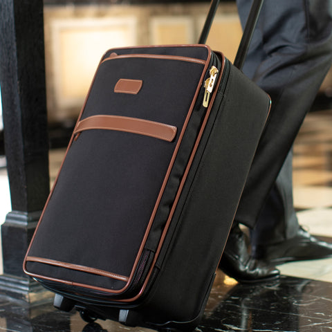 Travel - Black/Tan Carry On