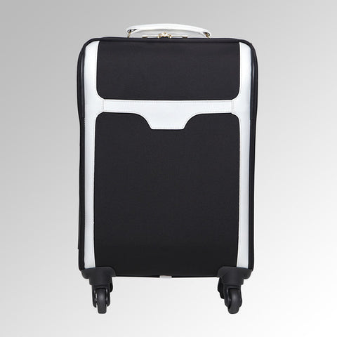 Travel - Black/White Carry On