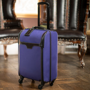 Travel - Blue/Burg Carry On